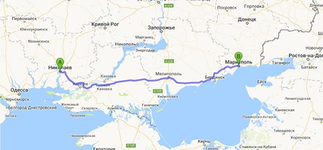 такси Николаев - Мариуполь, такси межгород