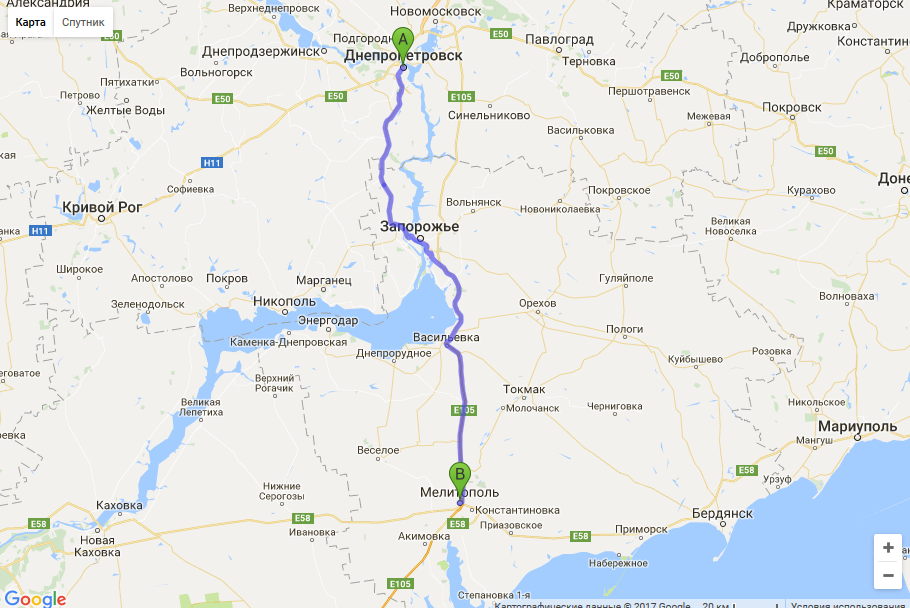 межгород такси днепр - мелитополь